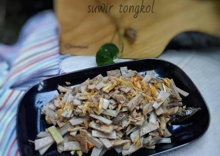 Tumis Kadedemes Suwir Tongkol