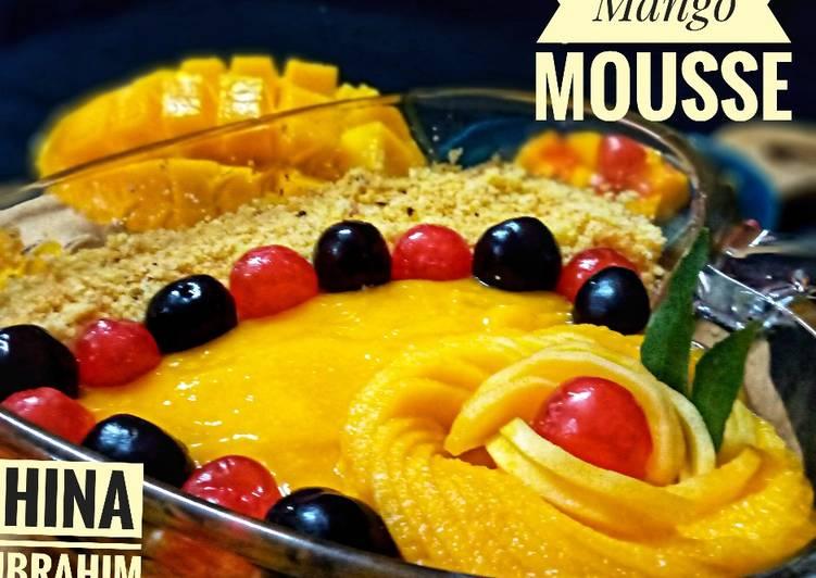 Easiest Way to Make Yummy Mango Mousse