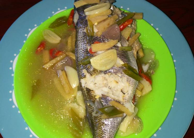 Steamed Fish (Ikan Kukus) Simpel