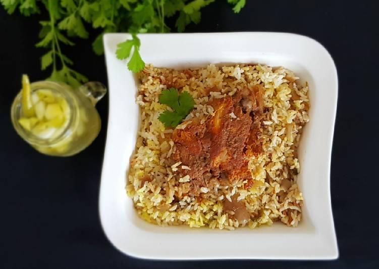 Recipe of Speedy Fried chicken biriyani
