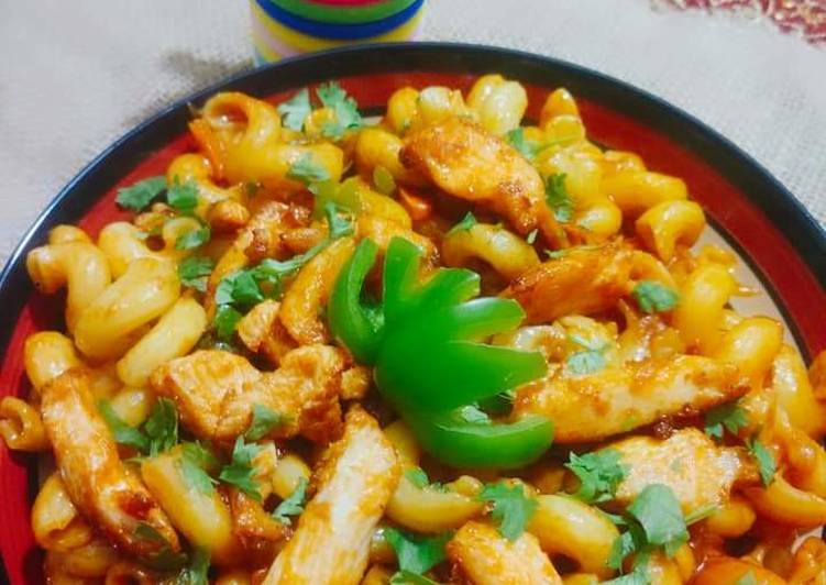 Going Green for Good Health By Eating Superfoods Chiken_Fajita_pasta