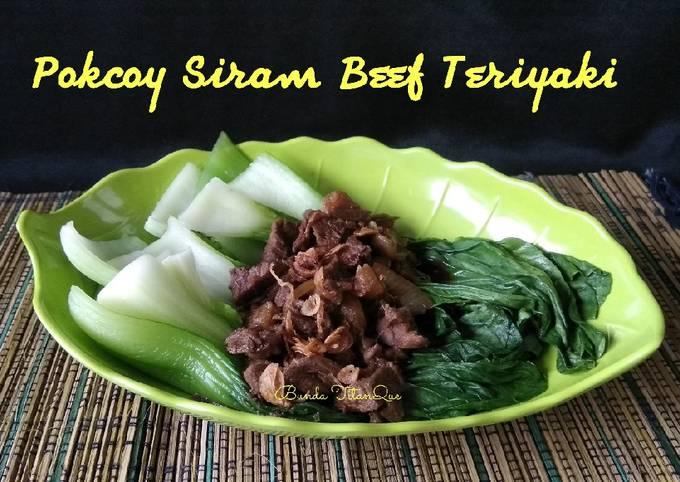 Pokcoy Siram Beef Teriyaki - projectfootsteps.org