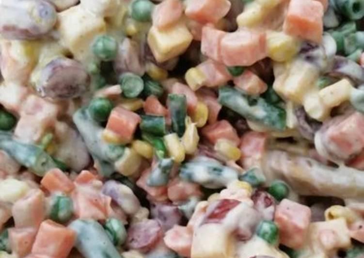 Recipe of Award-winning Vegetable salad