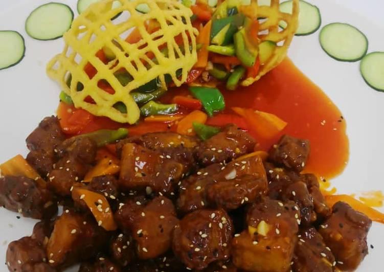 Recipe: Delicious Sweet & Sour Pork 排骨王