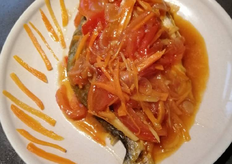 Sweet and Sour Pompano