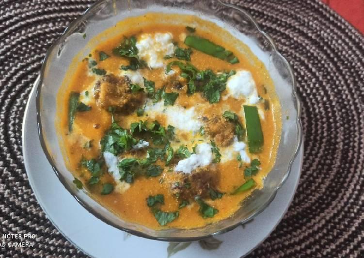 My Grandma Shahi Gobhi Kofta Curry