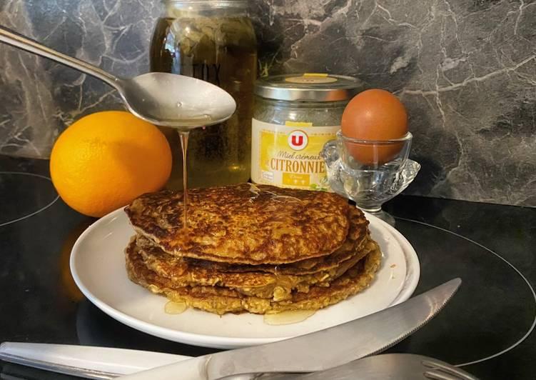 67• 🥞 Petit-déj Express Galette Banane Flocons d'avoine et graines de Chia 🍌