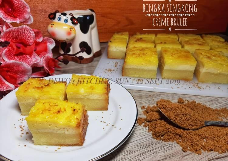 Bingka Singkong Creme Brulee