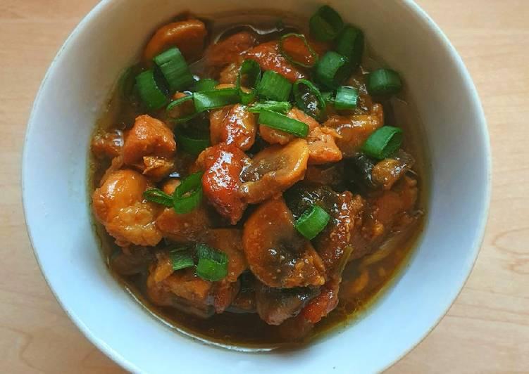 15. Topping Mi Ayam Chinese Style