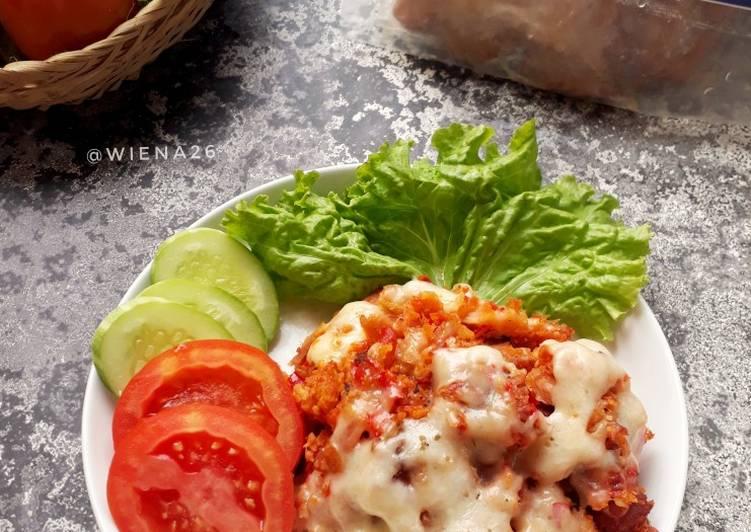 Ayam Geprek Mozarela