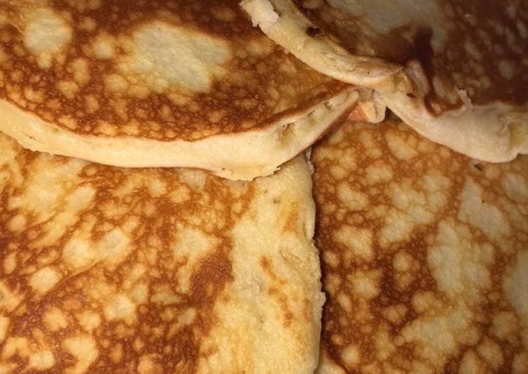 Pancakes sans œufs