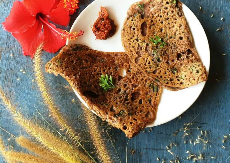 Recipe: Delicious The 'nutritious' ragi (finger millet) dosa
