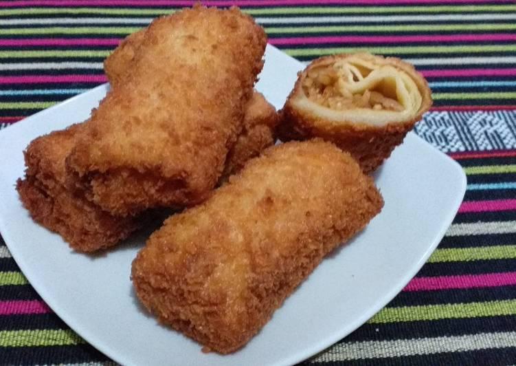 Resep Risoles Indomie Goreng Sosis Terbaik