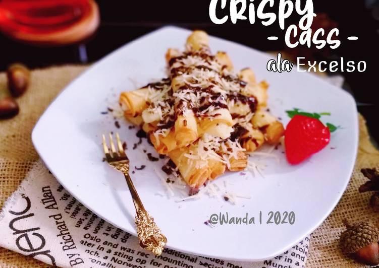 Crispy Cass ala Excelso a.k.a Crispy Cassava