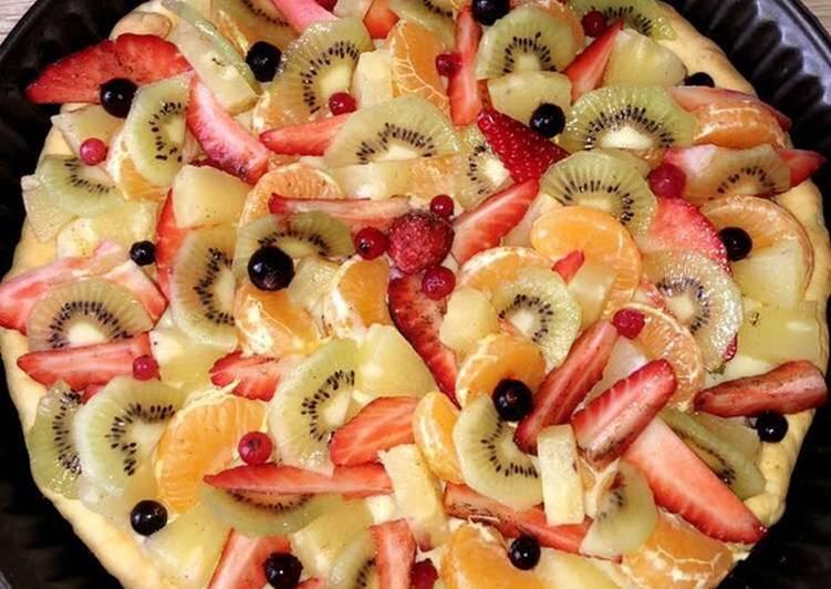Tarte multiple fruit