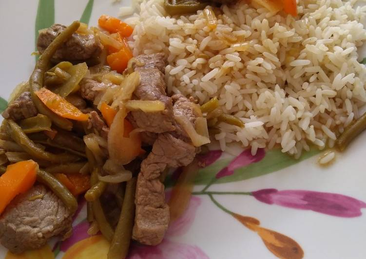 Comment Préparer Les Émincés de bœuf façon wok