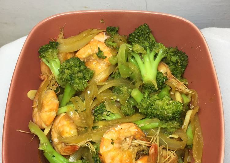Ca brokoli udang