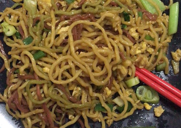 Resep Bakmie goreng sayur sehat – menu si kecil 1th+ Terenak