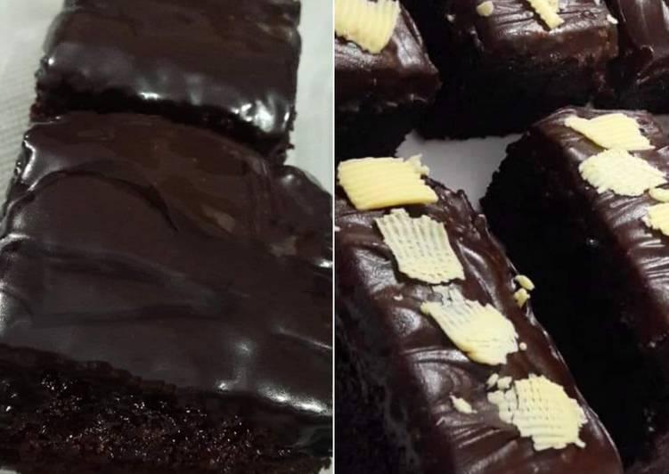 Easiest Way to Prepare Perfect Chocolate truffle brownies