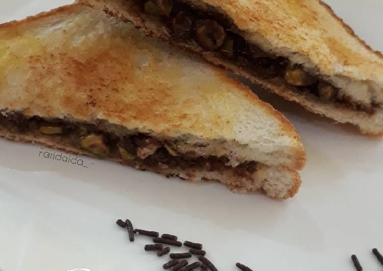 Sandwich coklat