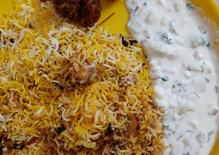 Eid Special Chicken DUM Biryani