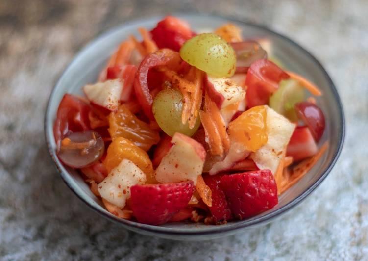 Recipe of Ultimate Tum Phol La Mai-spicy fruit salad