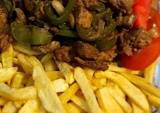 Pork & fries