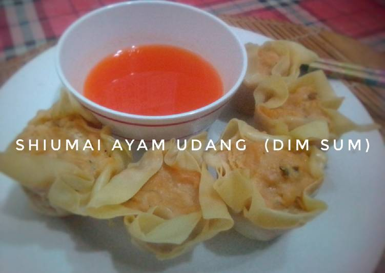 Shiumai Ayam Udang (dim sum)