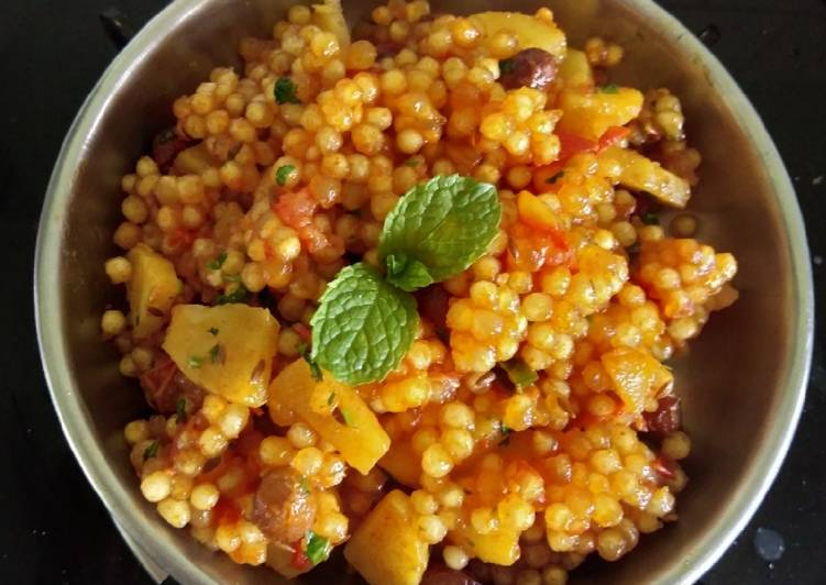 25 Minute Easiest Way to Prepare Royal Sabudana khichdi for breakfast