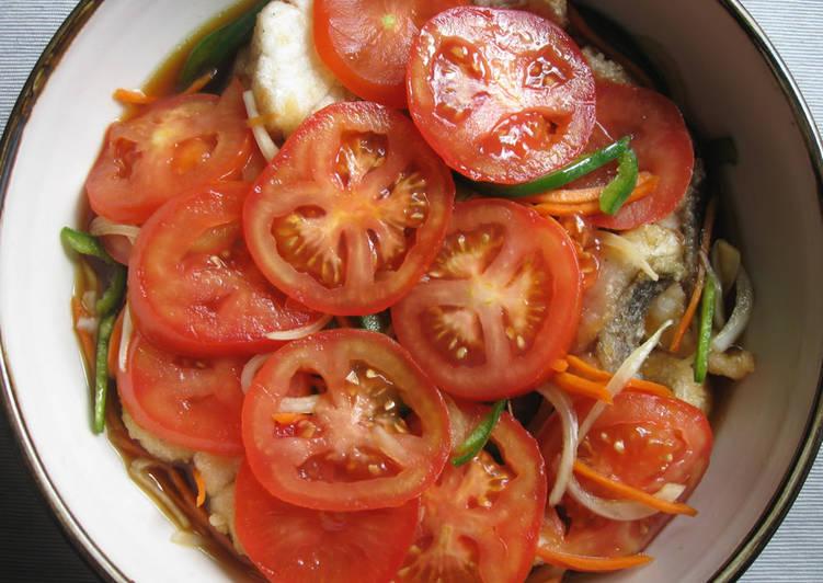 Recipe of Quick 'Nanban-zuke' (Marinated Fried Fish)