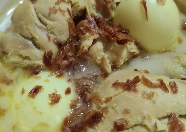 Kare Ayam Susu - cookandrecipe.com