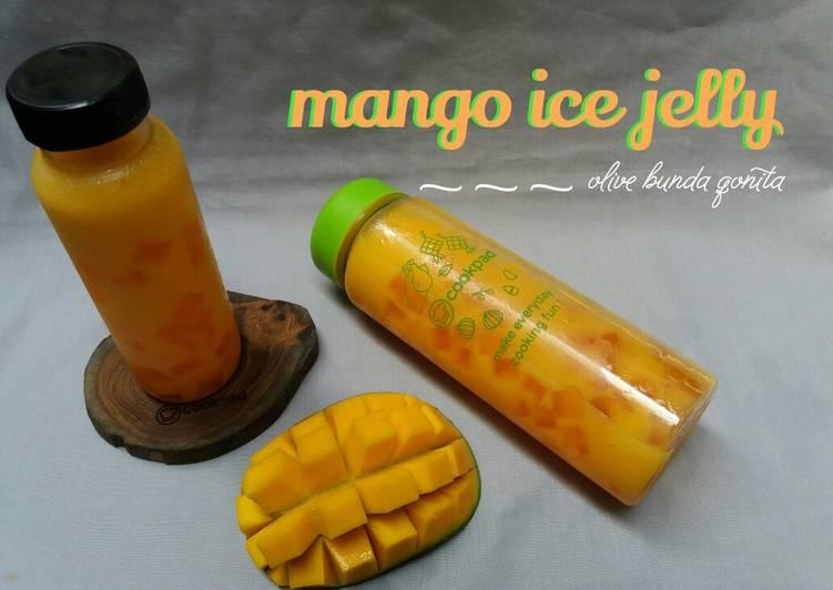 Es jeli mangga / jus mangga jeli