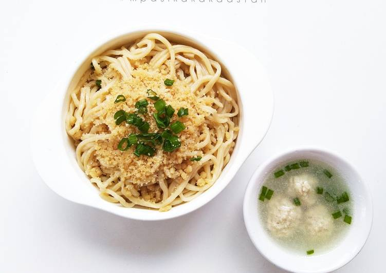 Cwie Mie Malang + Bakso Daging - MPASI