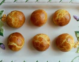 Bollinos de queso azul con membrillo