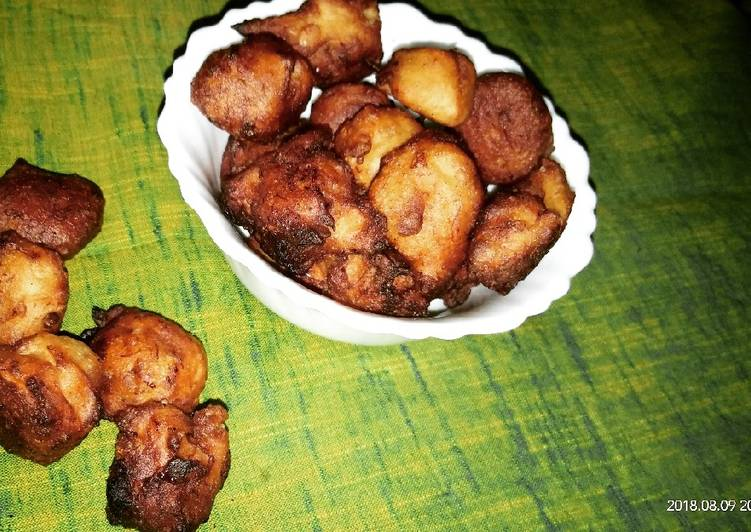 Recipe of Most Popular Banana Fritters Kolar Bora