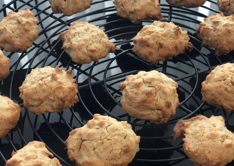 La Recette Pas à Pas Biscuits au sarrasin et sirop de sucre de canne