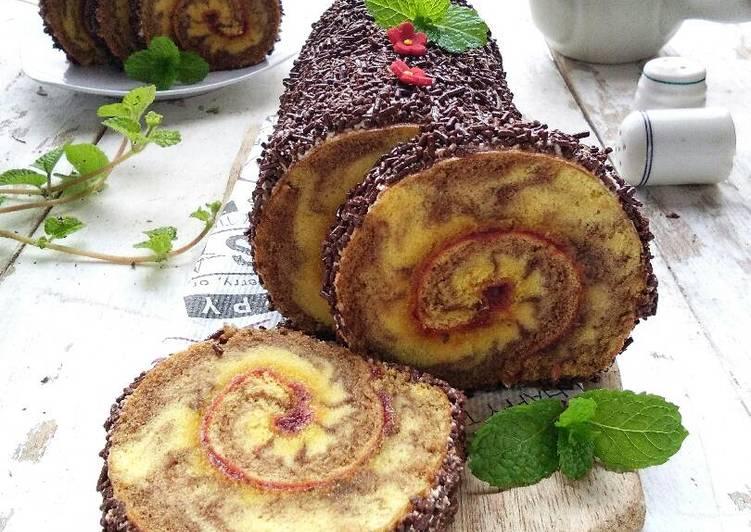 Zebra Roll Cake #BikinRamadanBerkesan