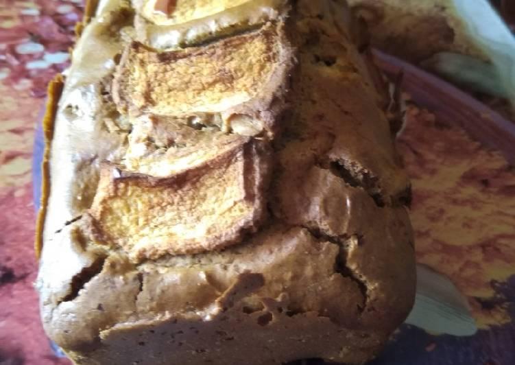 Recette de Ultime Cake pommes farine de sarrasin