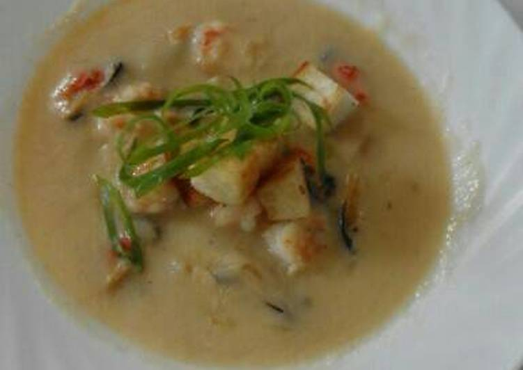 Recipe: Yummy Seafood Bisque