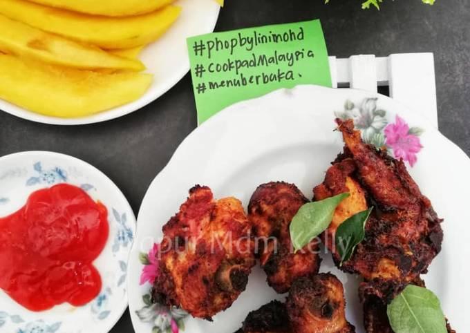 Ayam goreng berempah #phopbylinimohd