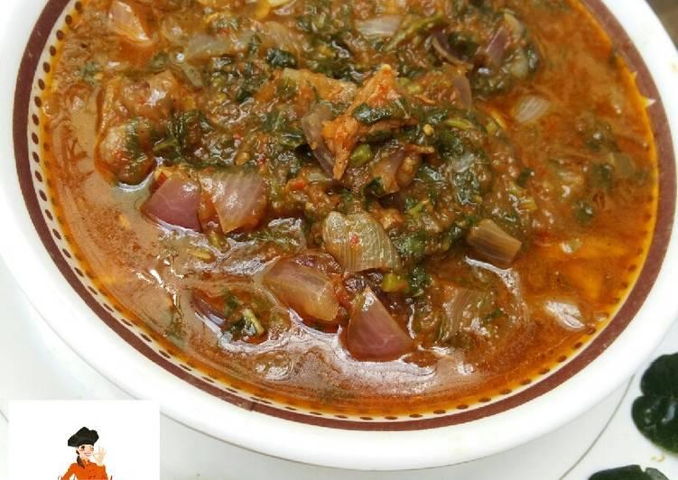 Recipe of Quick Taushe Soup (Pumpkin soup)