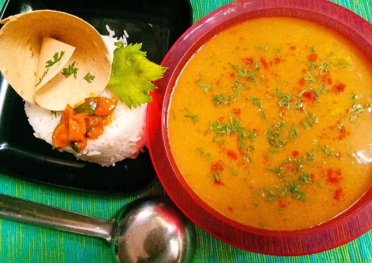 Oats and orange rasam