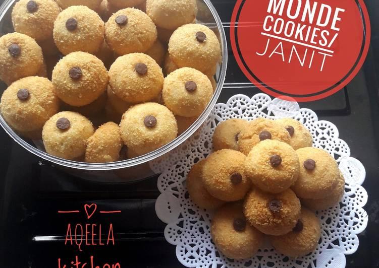 Monde cookies/ janda genit cookies - cookandrecipe.com
