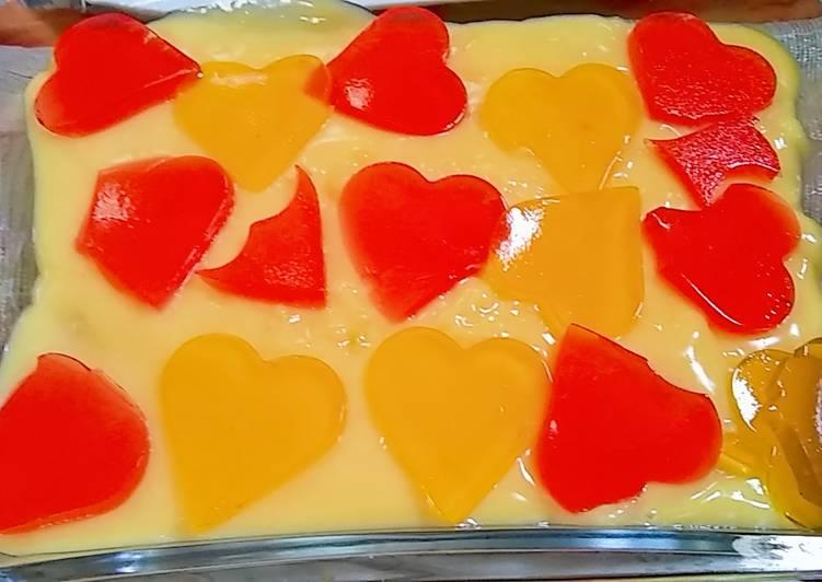 Jelly Mango Custard