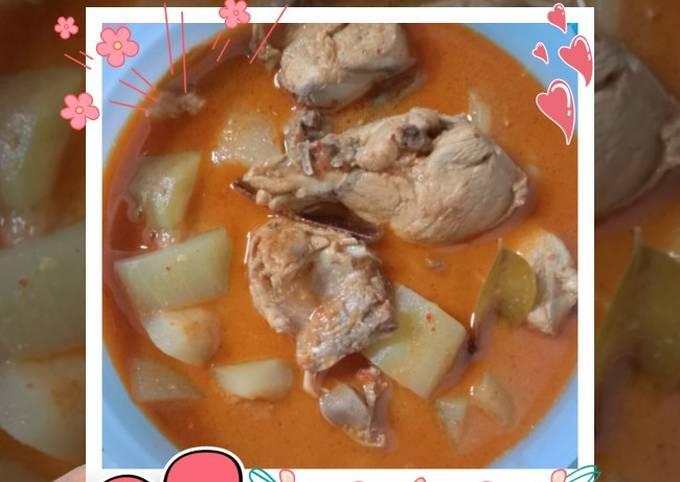 Kari Ayam Labu Air