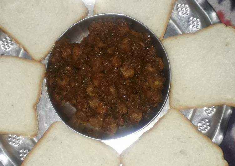 Easiest Way to Make Favorite Amritsari masala nutri with bread