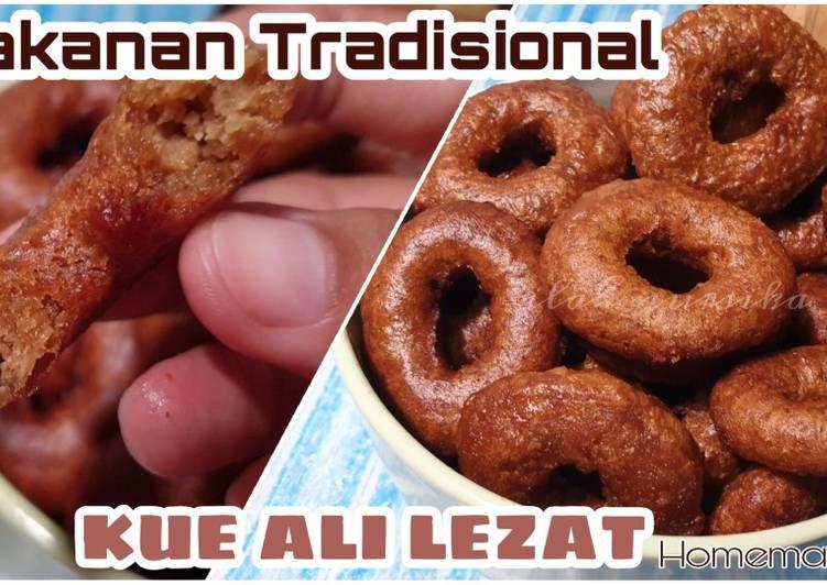 Kue Ali Anti Gagal | Kue Cincin Gula Merah - ganmen-kokoku.com