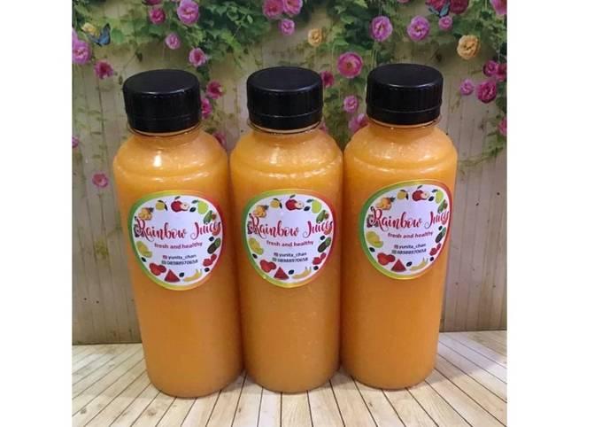 Diet Juice Mango Pear Orange Lemon Jackfruit