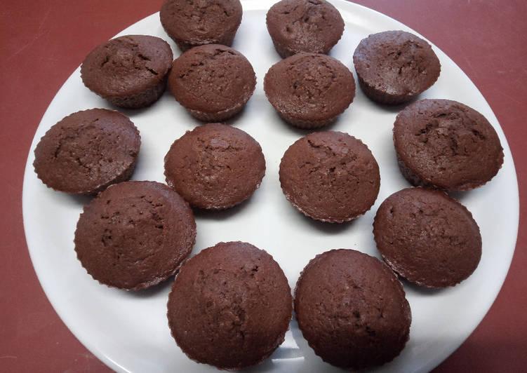 La Recette Pas à Pas Muffins au chocolat