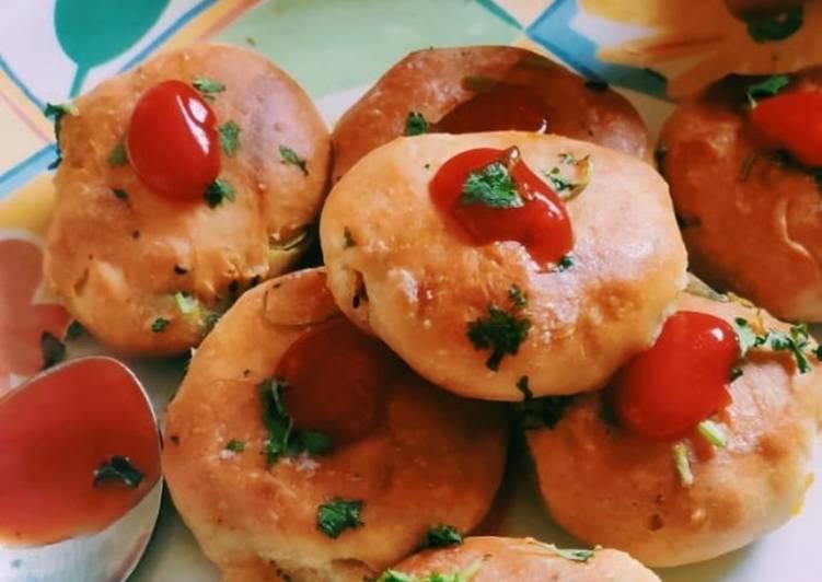 Recipe of Perfect Stuff masala pav